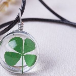 Beautiful Four Leaf Clover Necklace